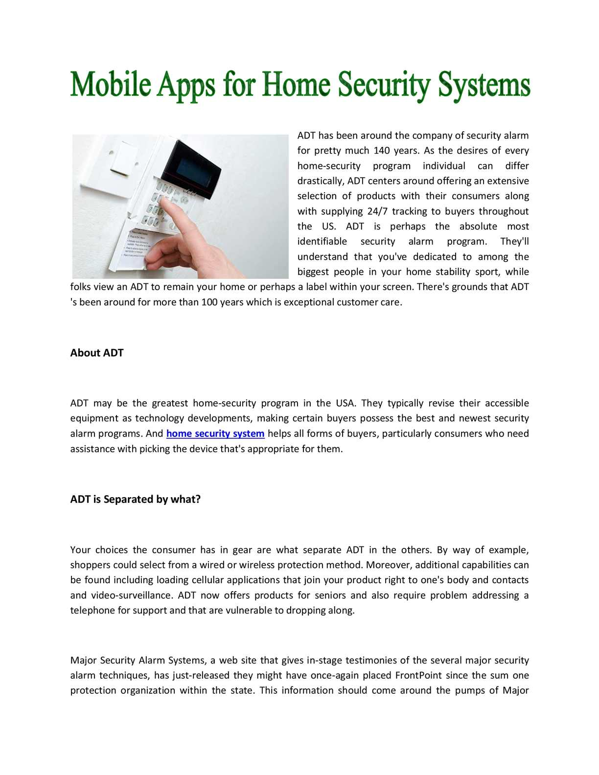 Calamo Home Security Systems Contacts Wiring Series