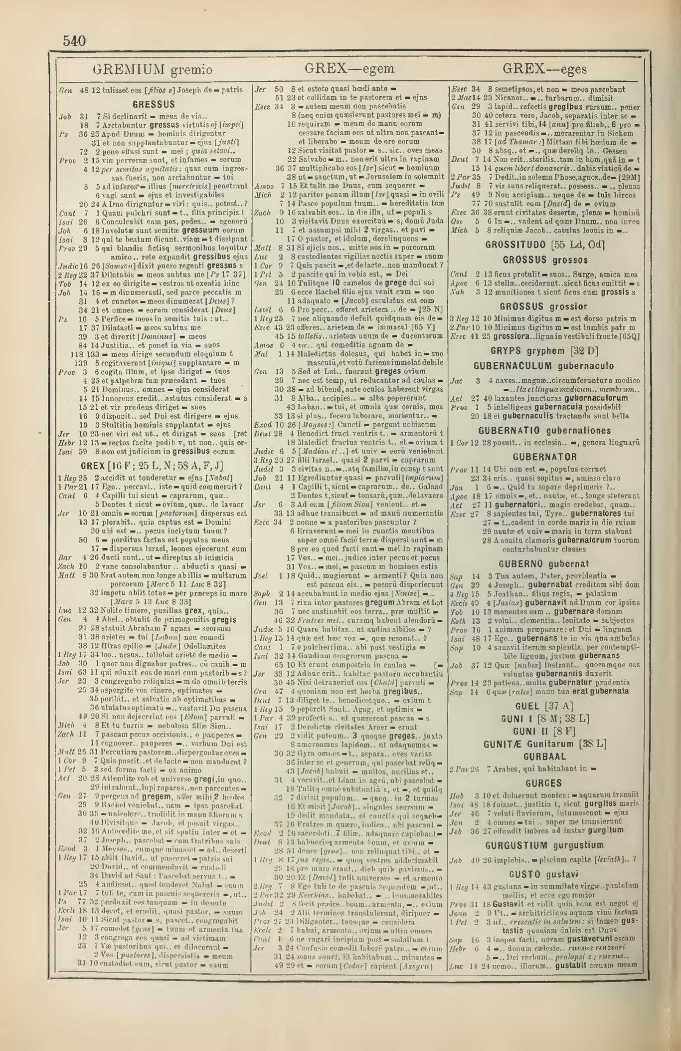 Calaméo Concordantiarum universae scripturae sacrae 3 Peultier Eugenius Etienne Louis Gantois Leo 1897
