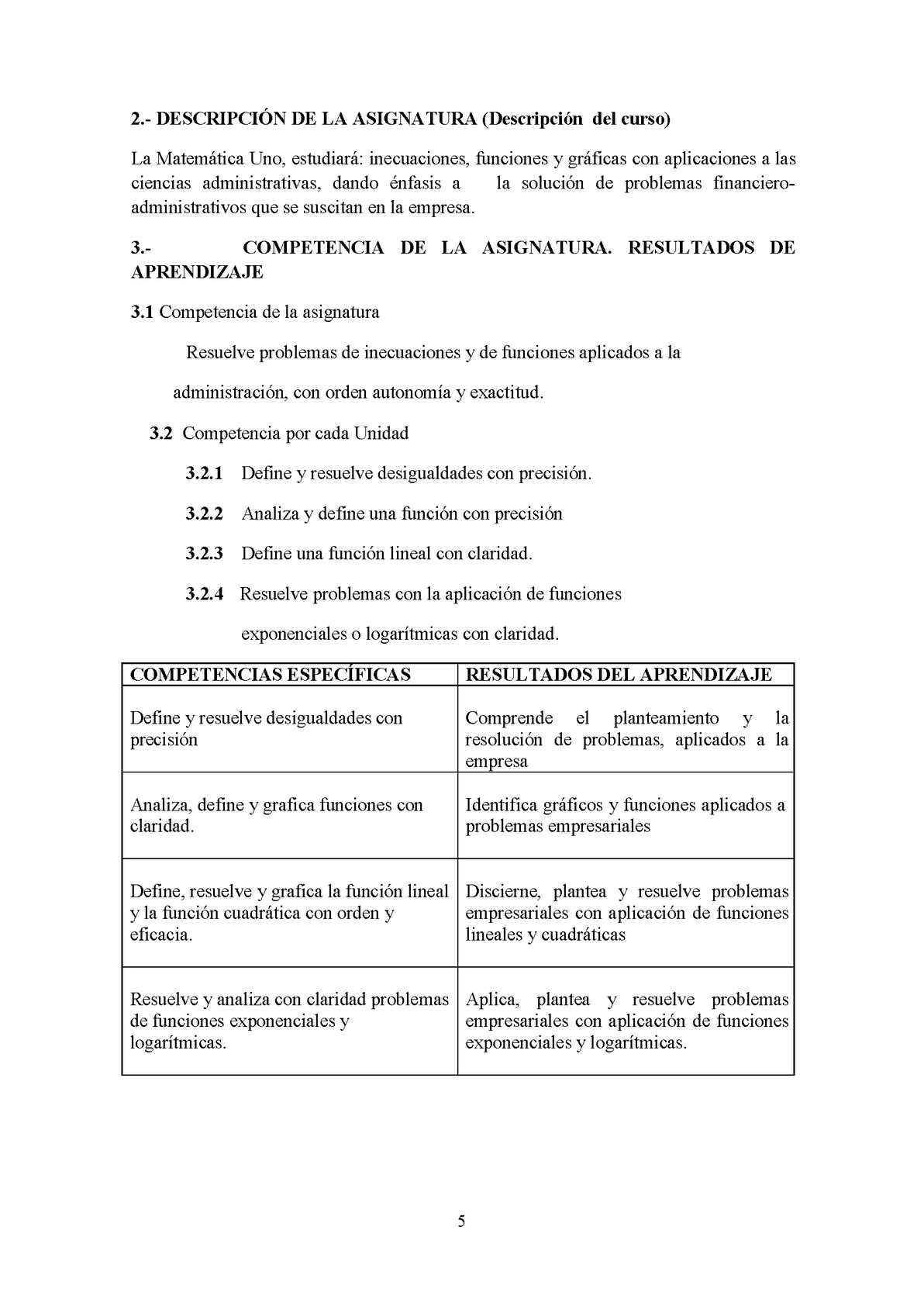 Unidad 01 Desigualdades e Inecuaciones