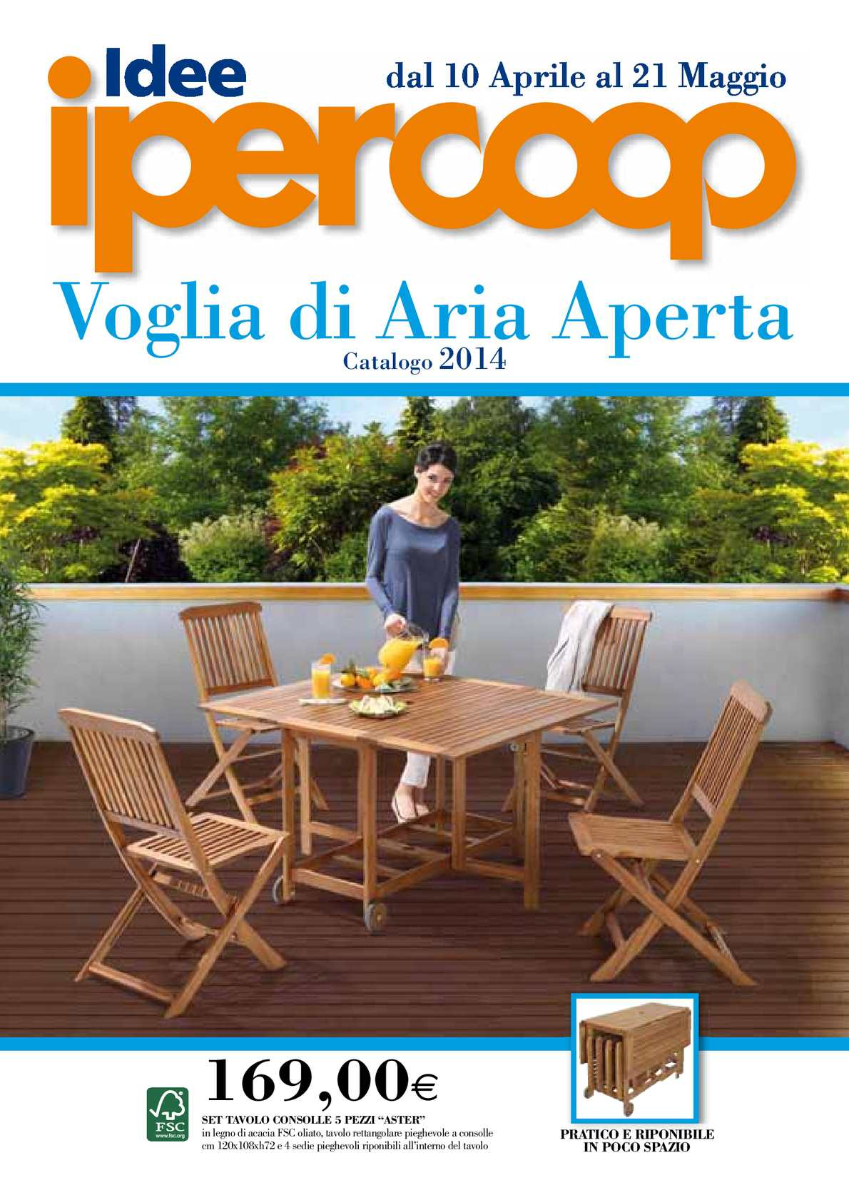 Calam o volantino coop giardino 10 apr 21 mag for Volantino mobili da giardino