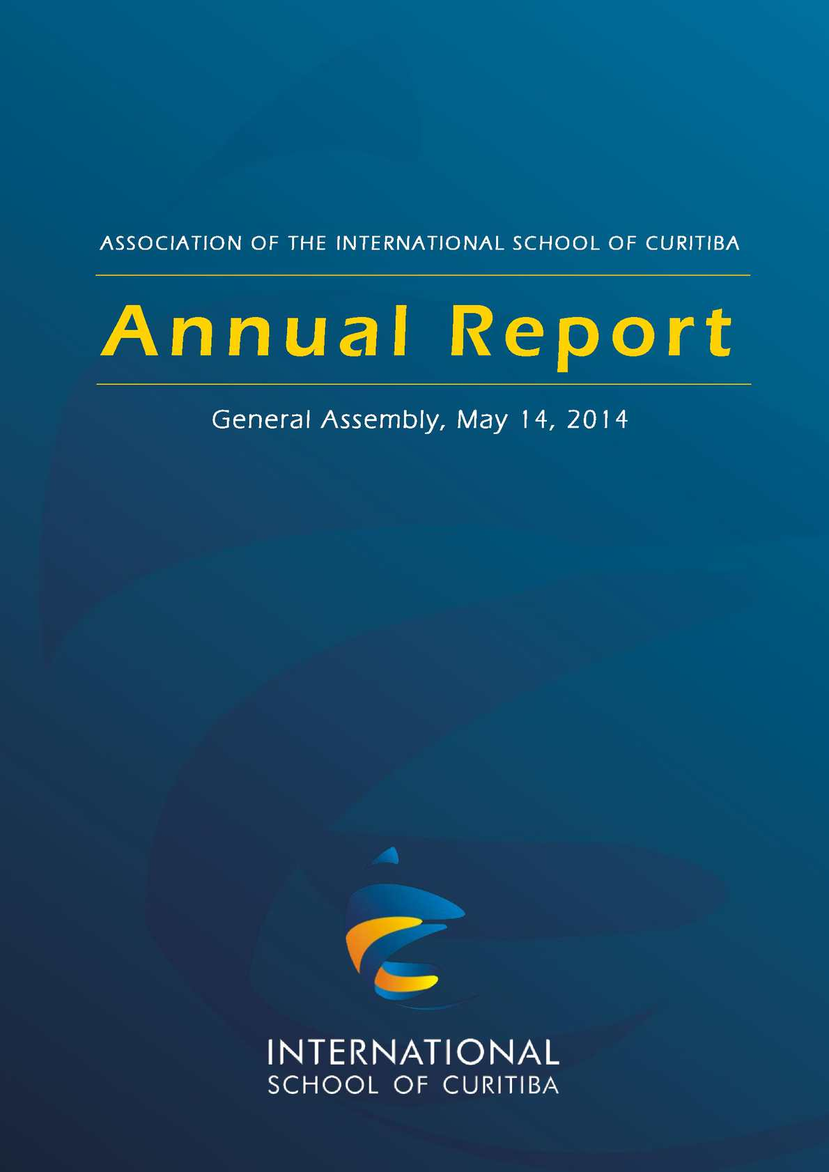 Calamo isc annual report 2013 2014 school year fandeluxe