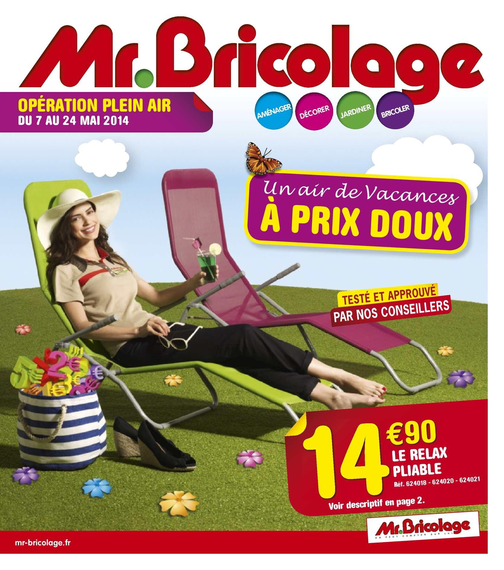 Calam o catalogue mr bricolage plein air 2014 4 pages - Mr bricolage moulins ...