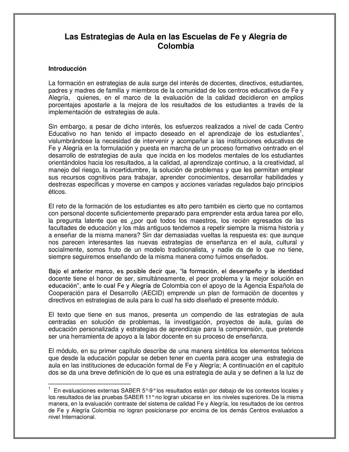 M+¦dulo Estrategias de Aula FEBRERO 2012
