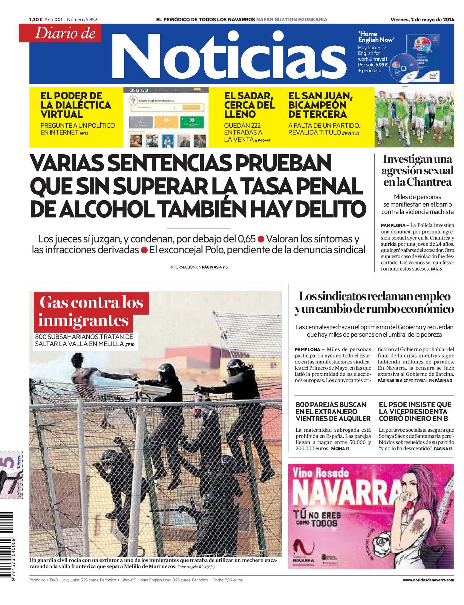 huge discount 0d978 d3fdf Calaméo - Diario de Noticias 20140502