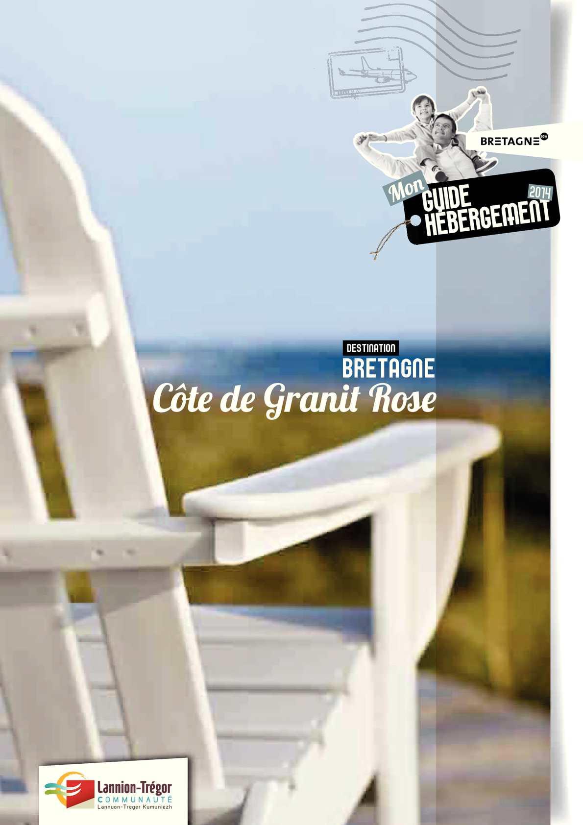Calaméo Guide Hébergement C´te de Granit Rose 2014