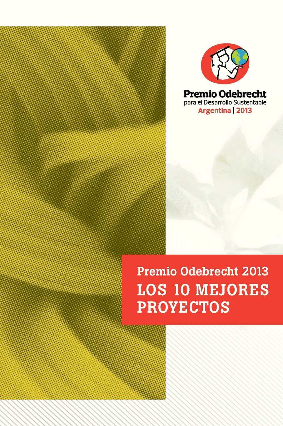 Los 10 mejores proyectos del Premio Odebrecht 2013