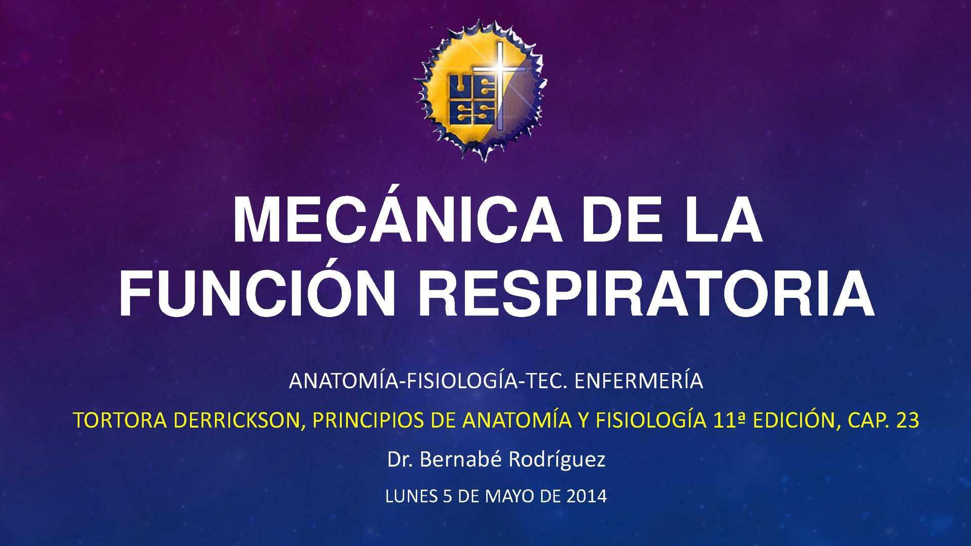 Calaméo - Mecánica de la función respiratoria