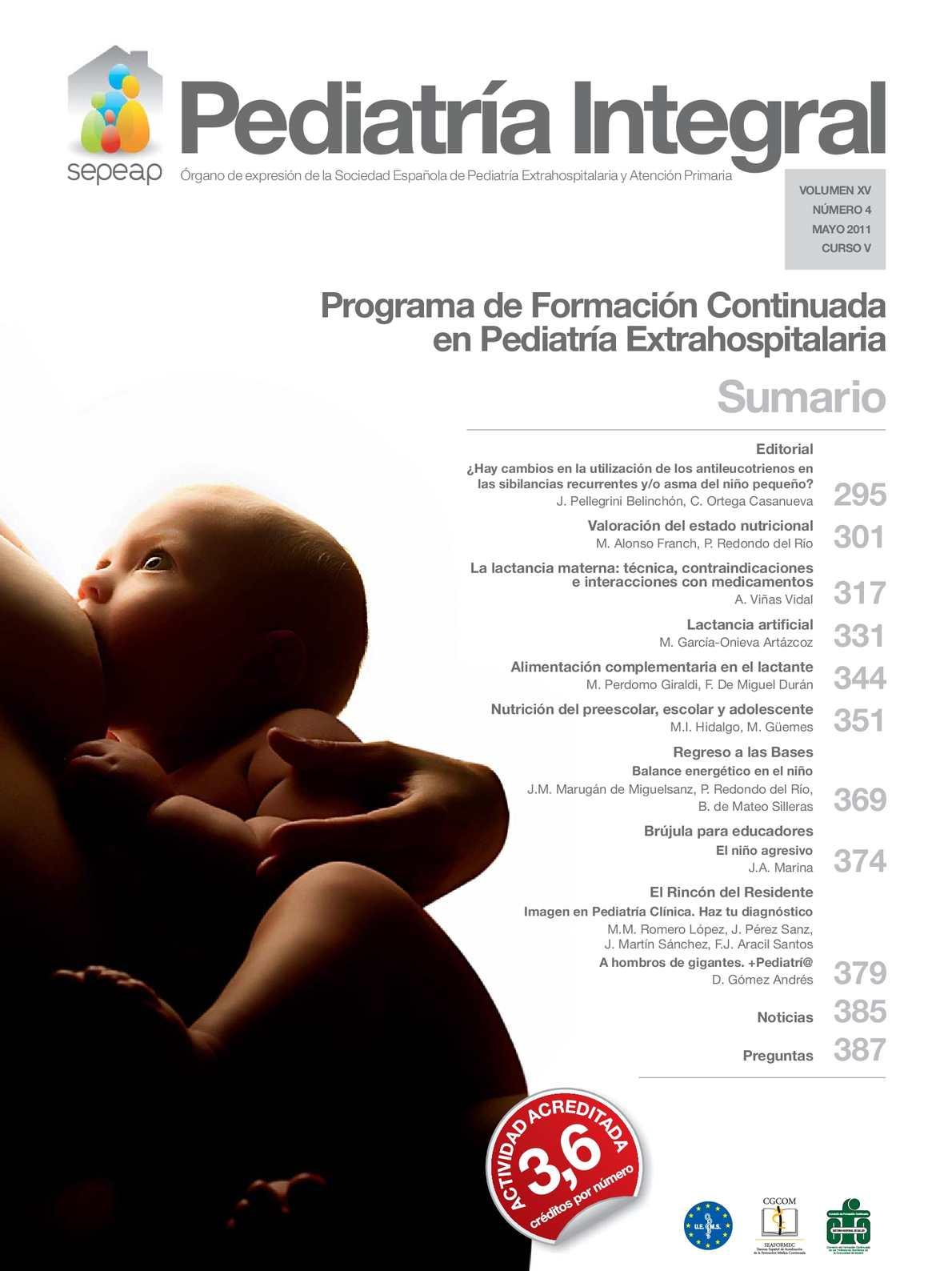 Calaméo - Nutrición en los bebes, niños y en la juventud
