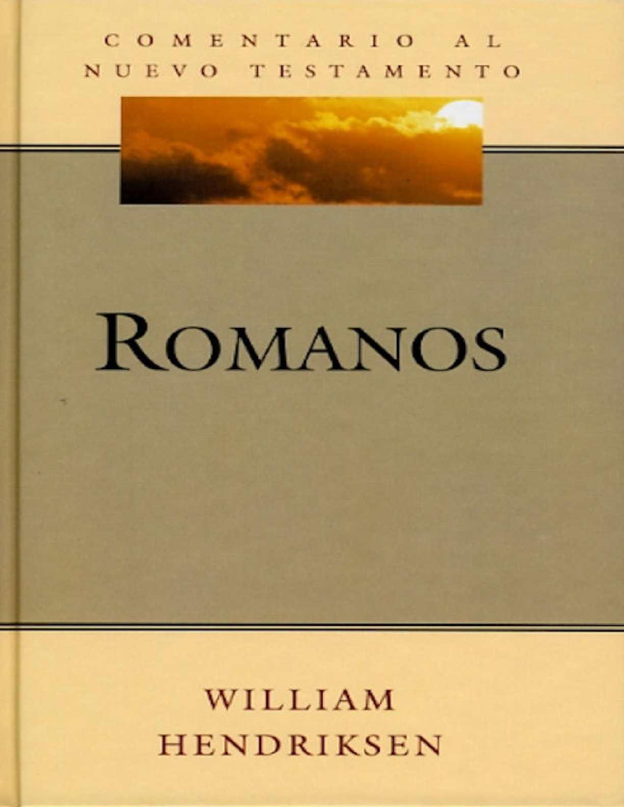 Romanos comentario al Nuevo Testamento Edi Desafío