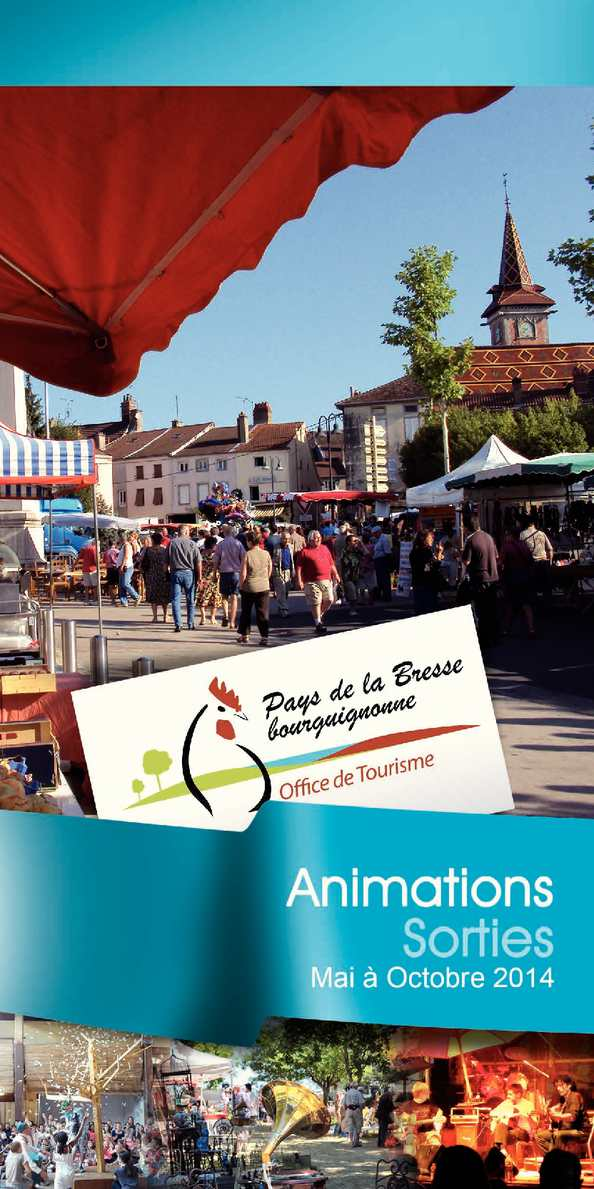 Calam o guide animations et sorties en bresse bourguignonne 2014 - Office de tourisme louhans ...
