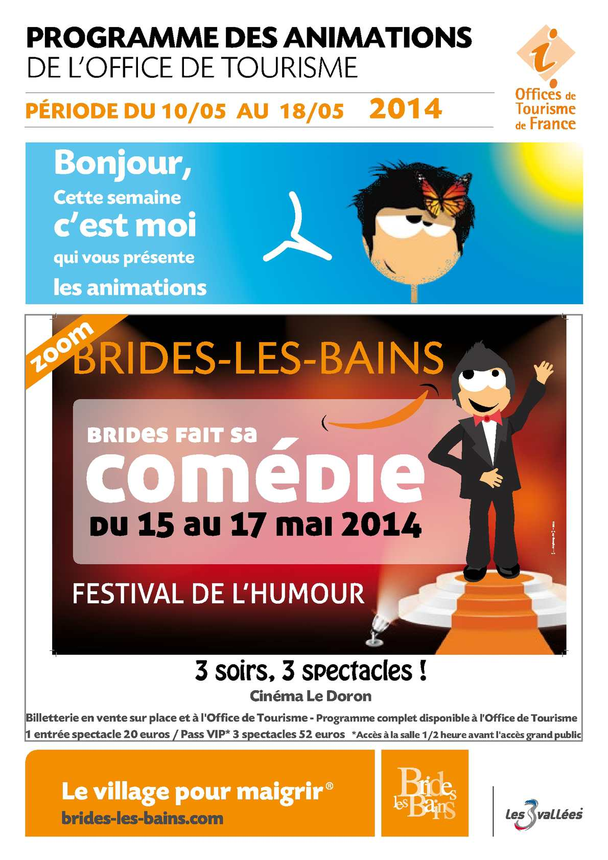 Calam o du 10 au 18 mai 2014 - Office de tourisme de brides les bains ...