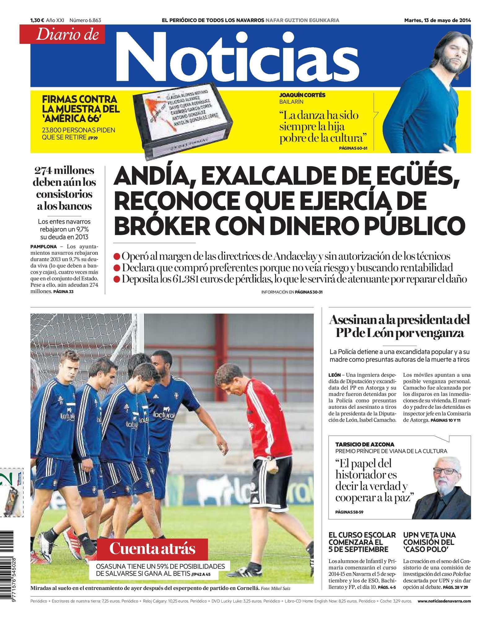 Calaméo - Diario de Noticias 20140513 5e6cbb8567055