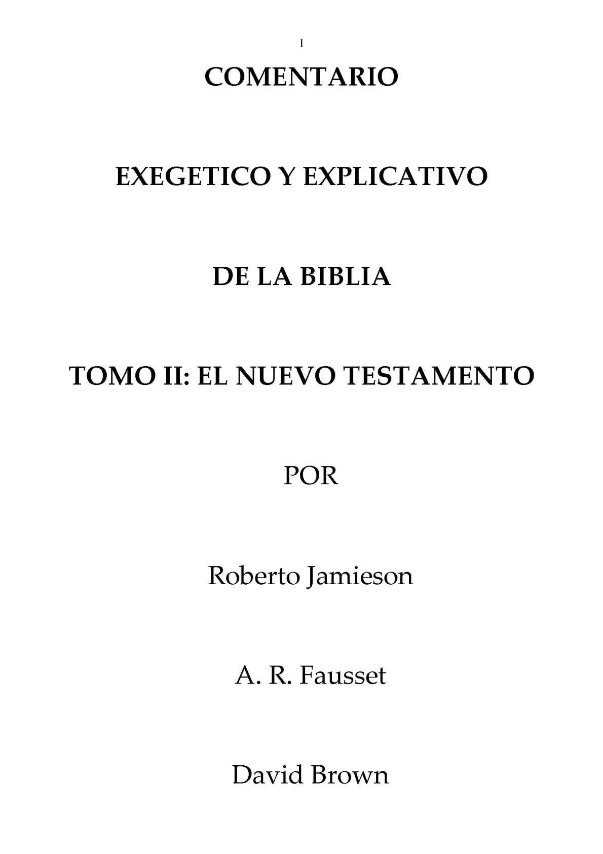 Calaméo - Comentario exegético y explicativo de la Biblia Tomo 2 ...
