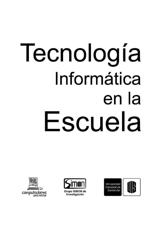 Calaméo - Tecnología e Informática en la Escuela