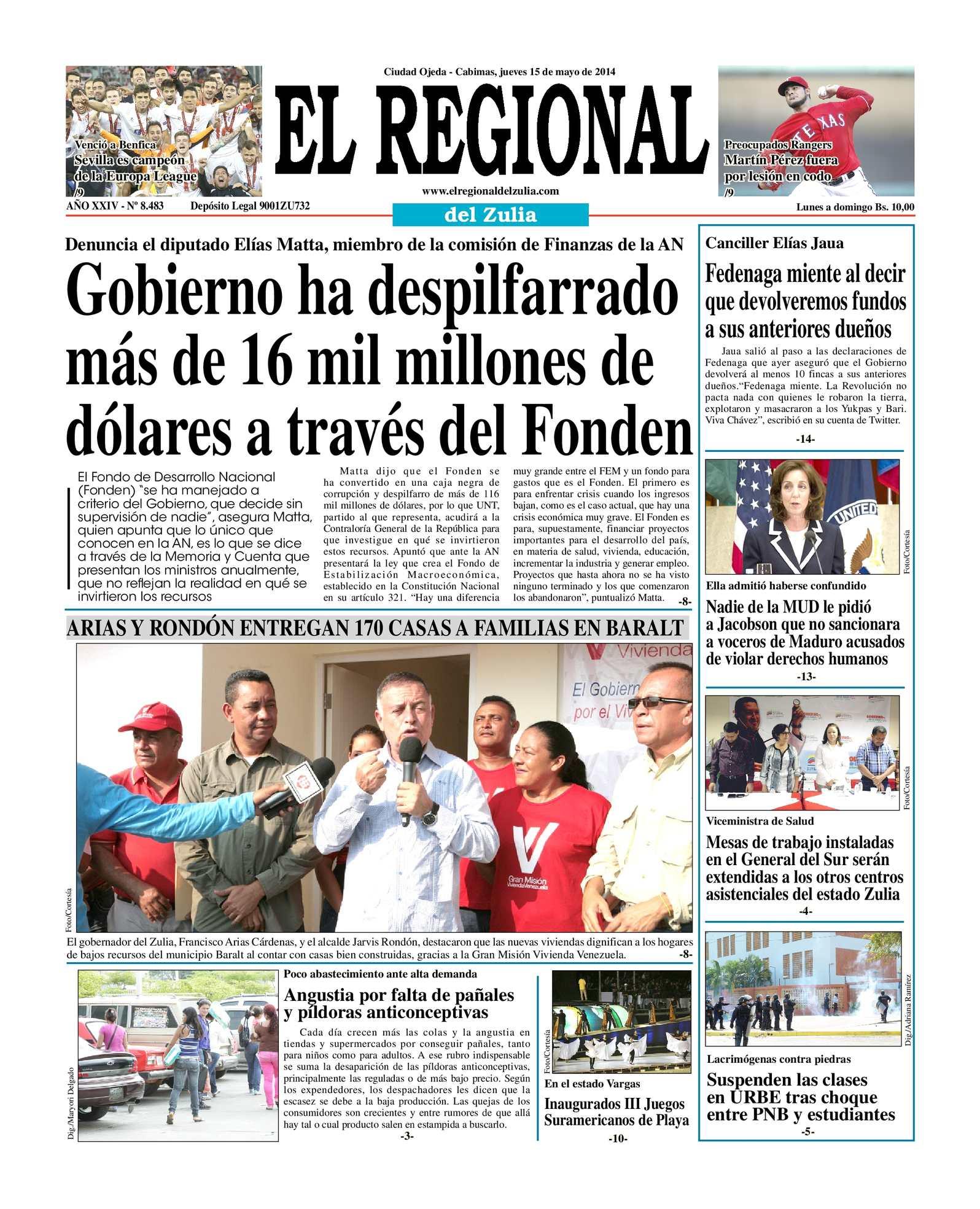 Calaméo - El Regional del Zulia 15-05-2014