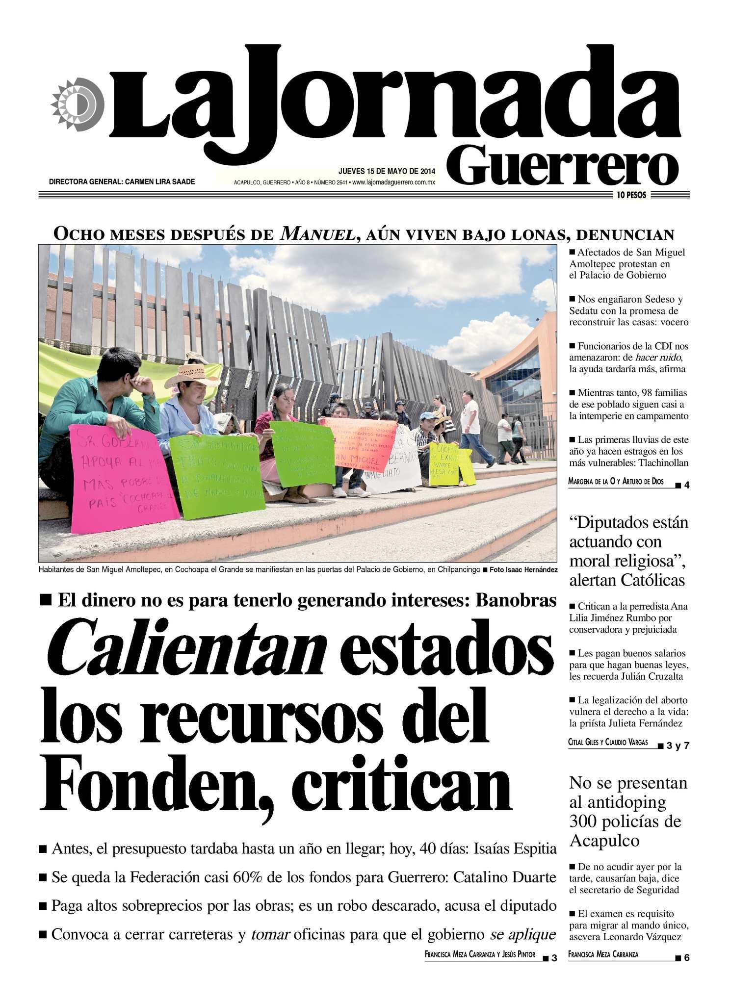 6ad807a6893c3 Calaméo - La Jornada Guerrero