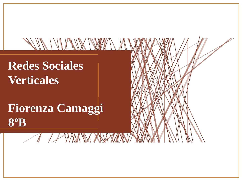 Redes Sociales : redes sociales verticales, dE ocio