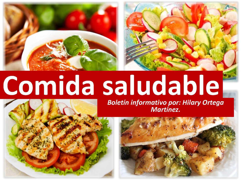 Calam o comida saludable for Comidas faciles y saludables