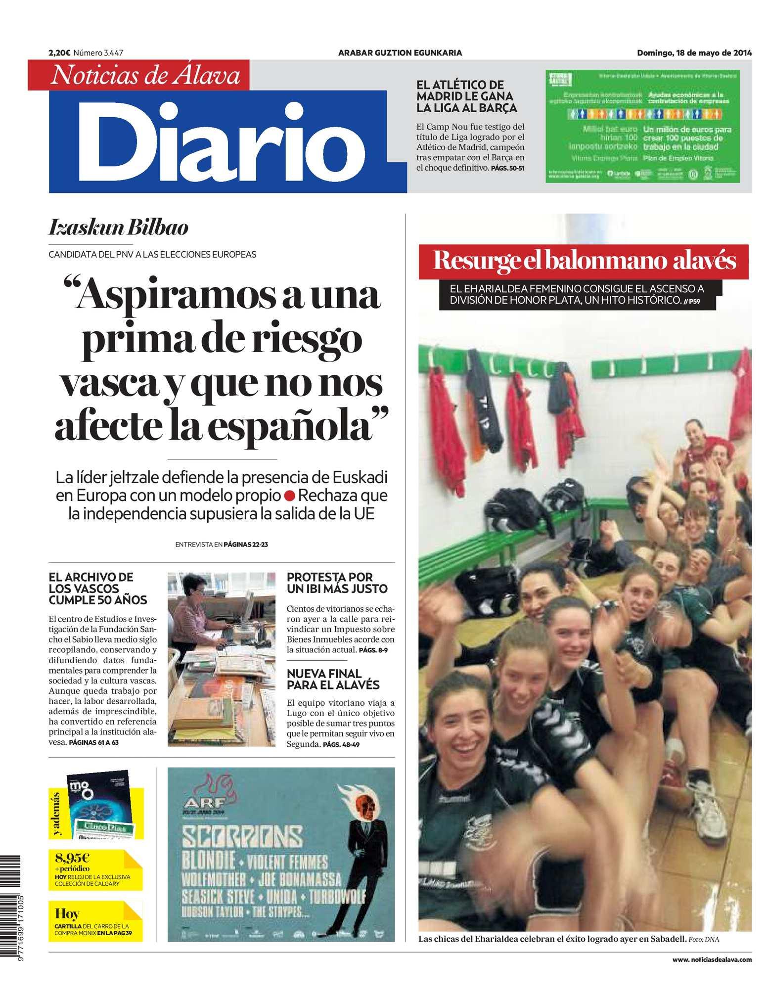 Calaméo - Diario de Noticias de Álava 20140518
