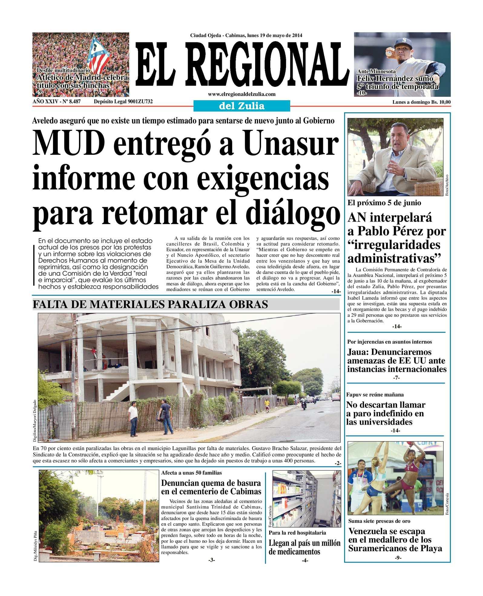 Calaméo - El Regional del Zulia 19-05-2014