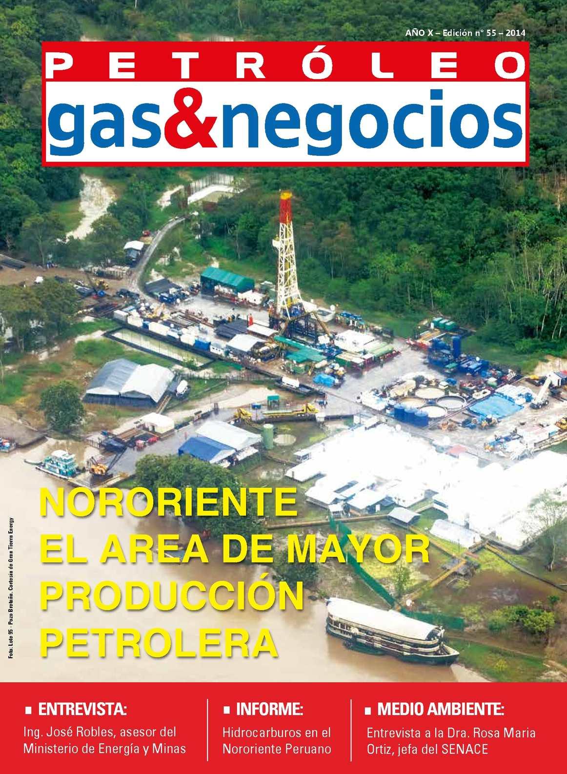 Calaméo - REVISTA PETROLEO, GAS & NEGOCIOS - EDICION 55