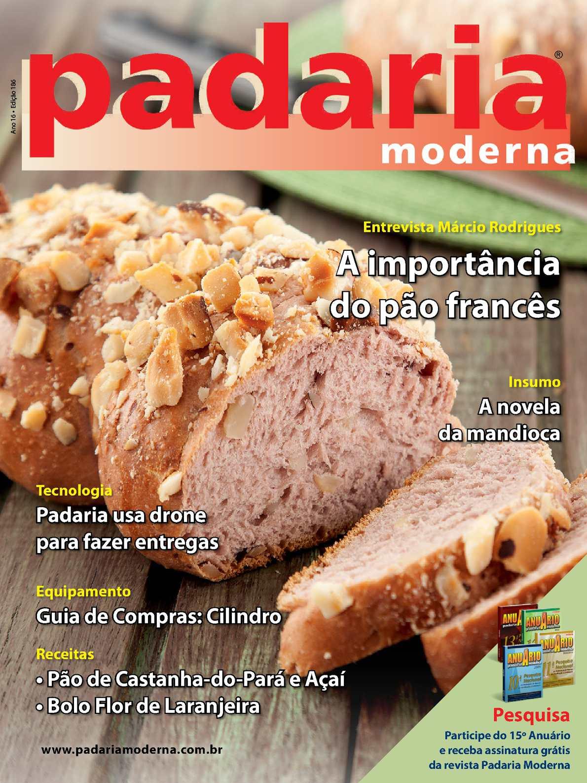 Revista Padaria Moderna - Edição 186