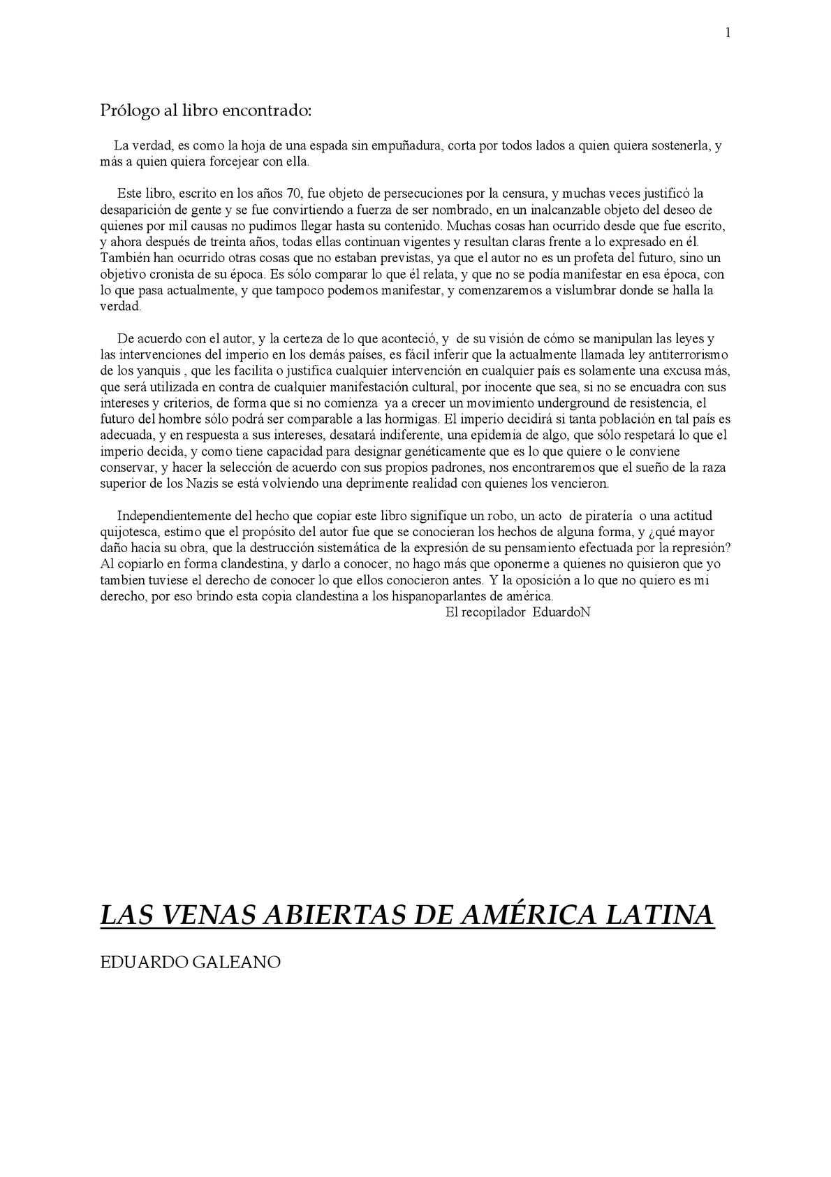 Calaméo - Eduardo+Galeano+-+Las+venas+abiertas+de+América+Latina