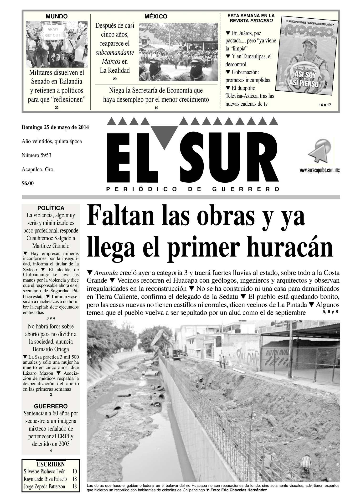 Calaméo - El Sur Domingo 25052014.pdf e8a98bdcf43f