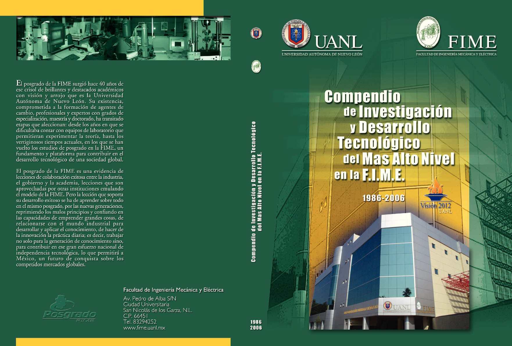 Calaméo - Compendio_Investigación_FIME_UANL