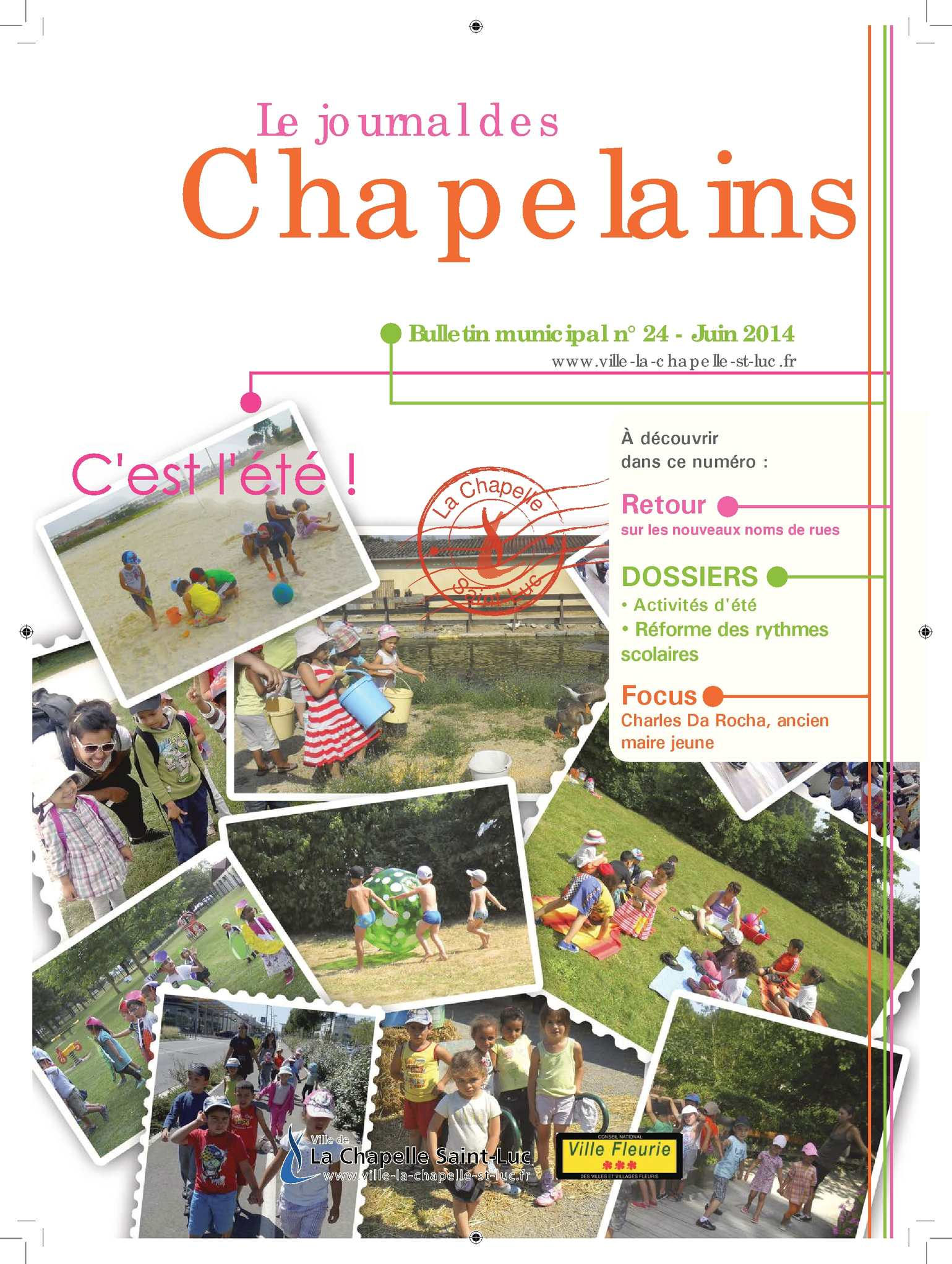 Calam o bulletin municipal n 24 juin 2014 la for Piscine la chapelle st luc