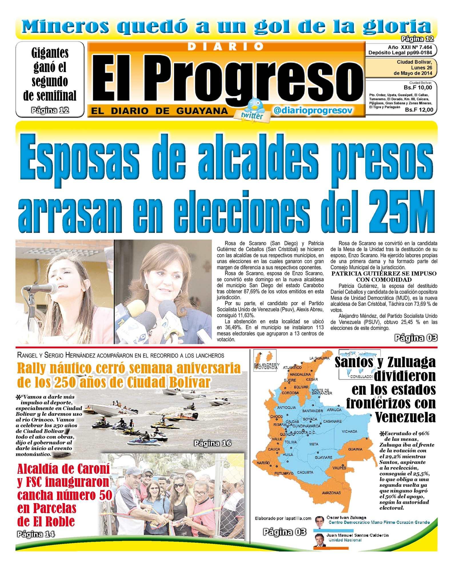 Calaméo - DIARIO EL PROGRESO EDICIÓN DIGITAL 26-05-2014