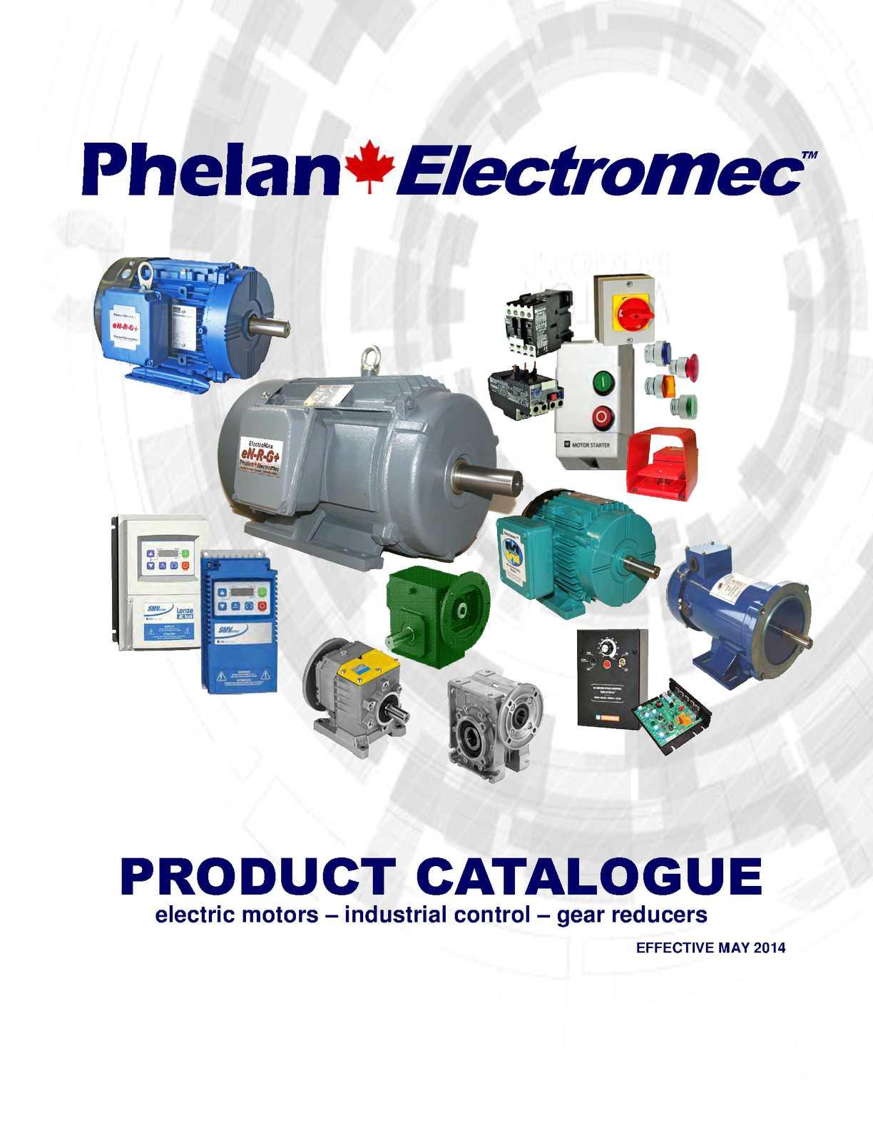 Calamo Phelan Electromec Product Catalogue Bodine Electric Motor Brushes Replacement Repalcement Parts