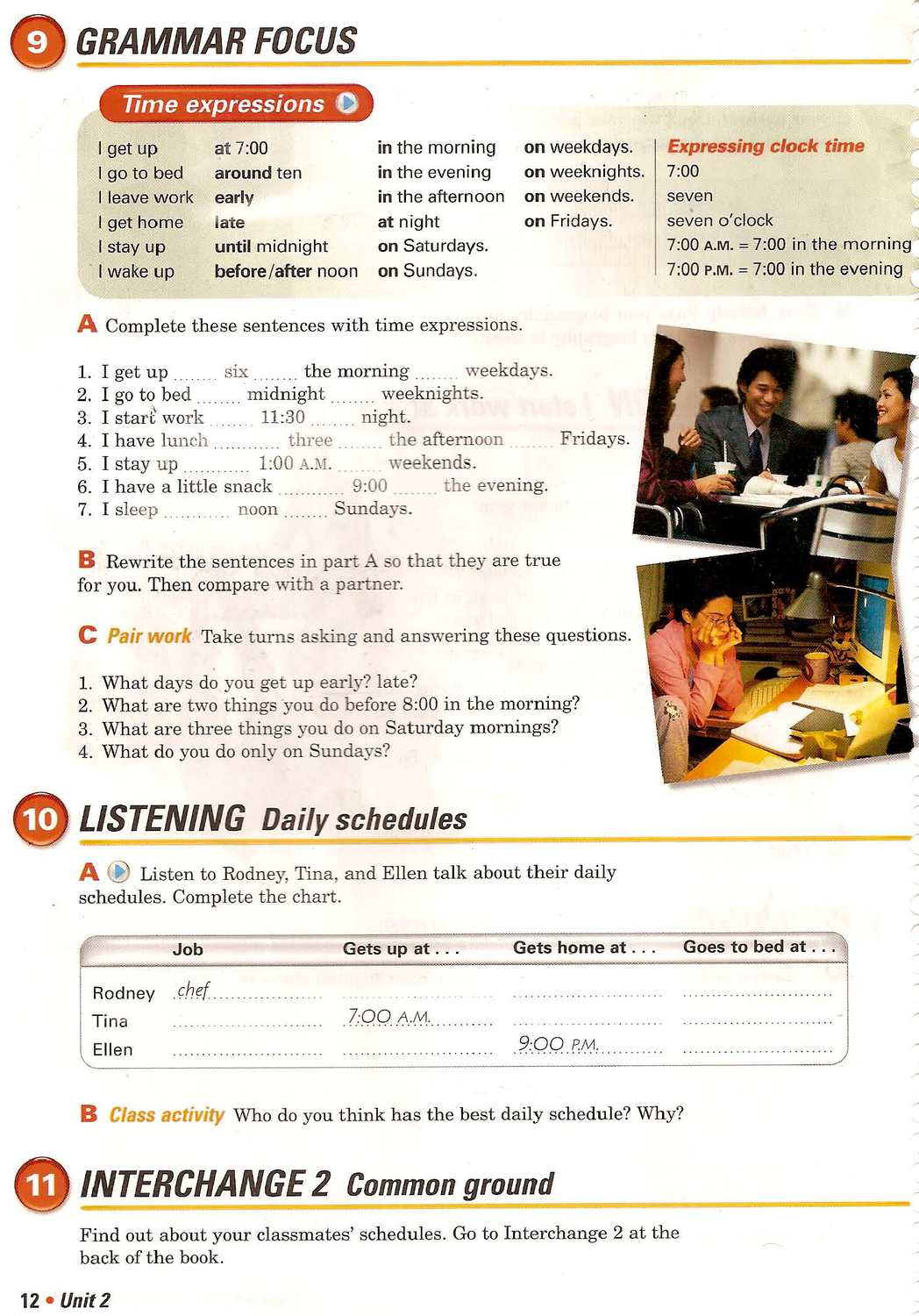 Interchange third edition 1 students book by calameo downloader page 17 fandeluxe Gallery