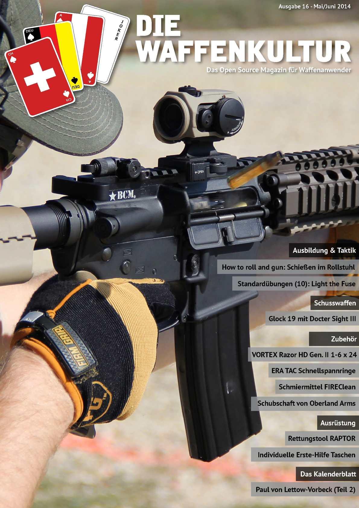 Die Waffenkultur - Ausgabe 16 - Mai / Juni