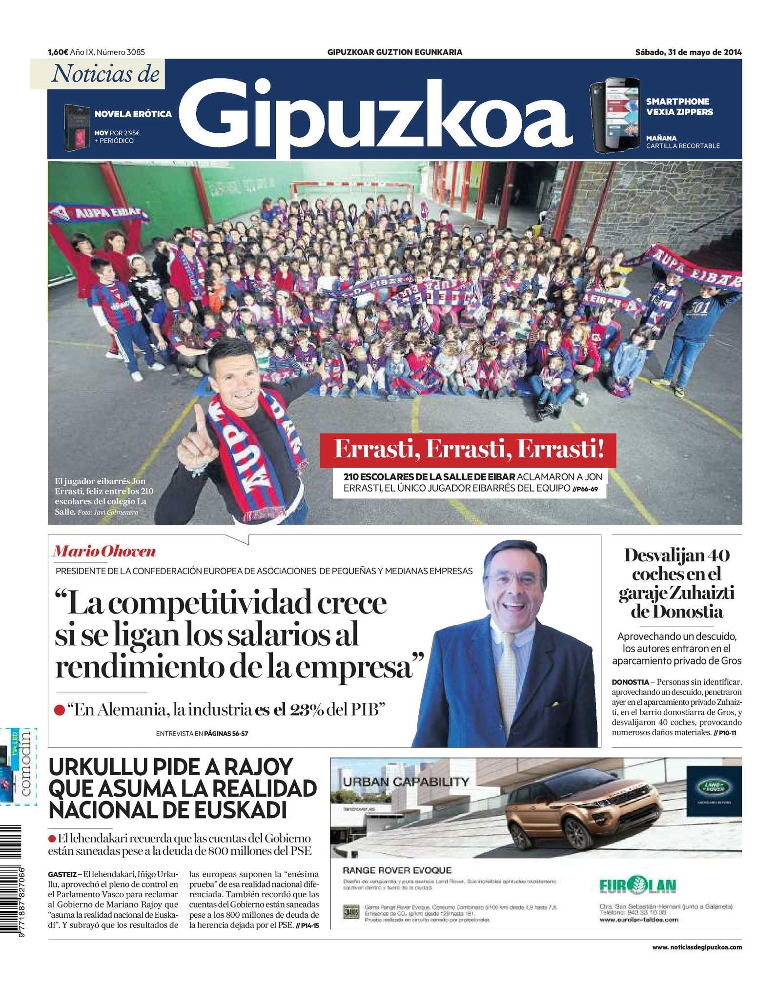 Calaméo Noticias De Gipuzkoa 20140531