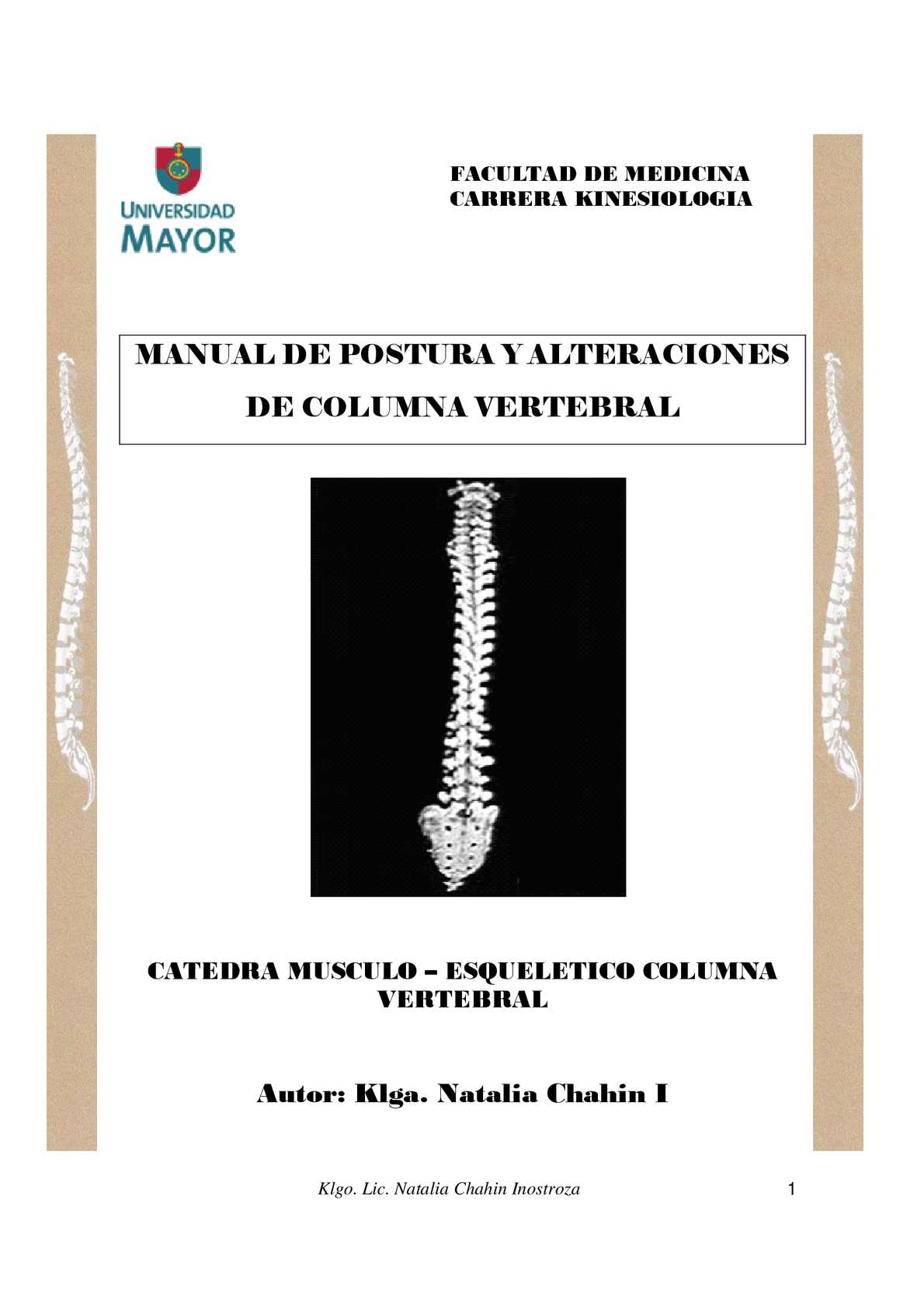 Calaméo - Manual de postura y alteraciones de columna vertebral