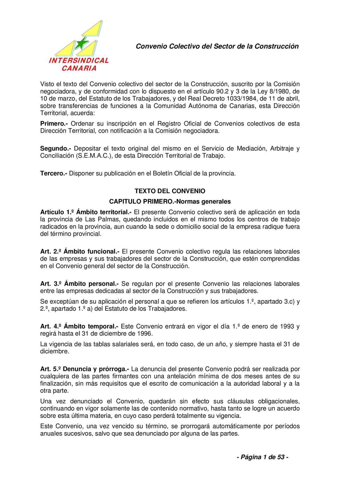 Calaméo - CONVENIO COLECTIVO DE LA CONSTRUCCIÓN.