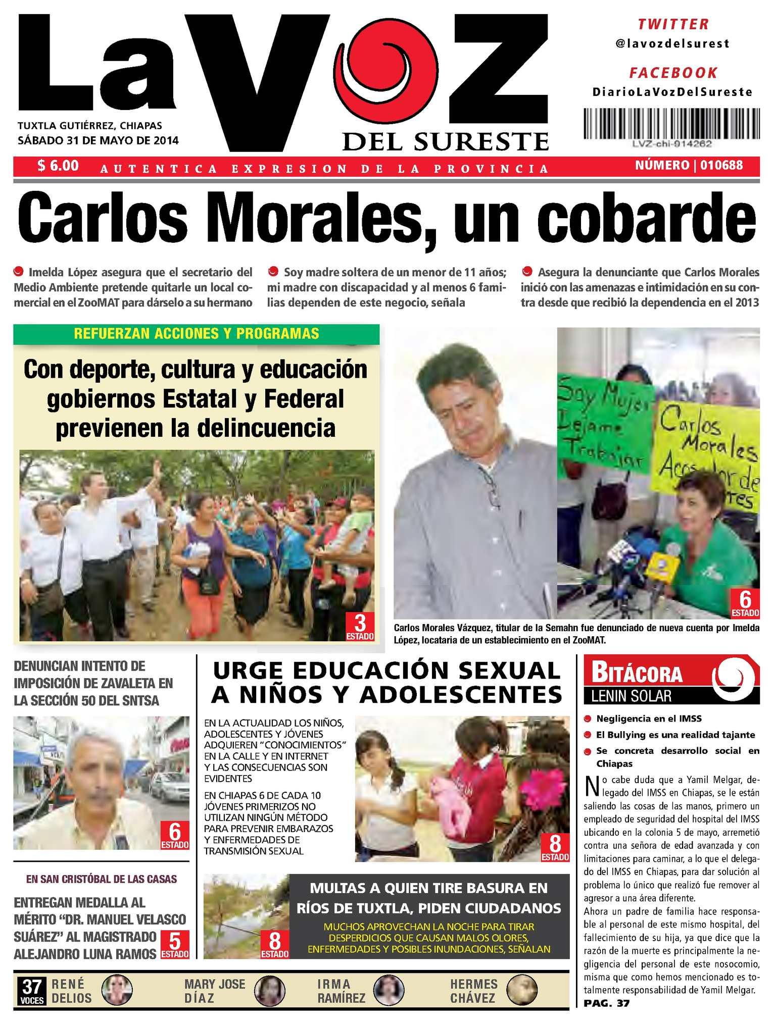 e5c74e3d591 Calaméo - Diario La Voz del Suerte