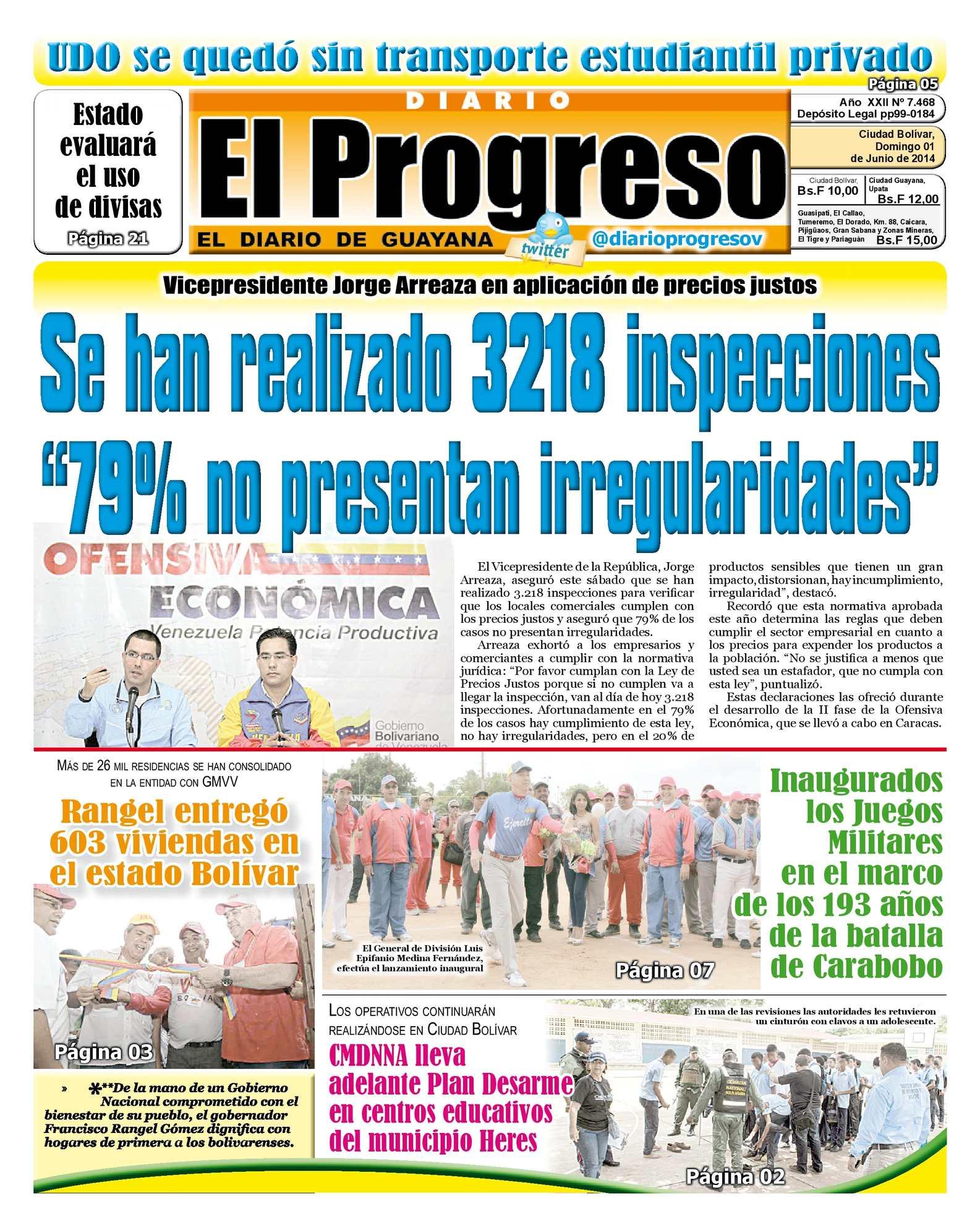 Calaméo - DIARIO EL PROGRESO EDICIÓN DIGITAL 01-06-2014