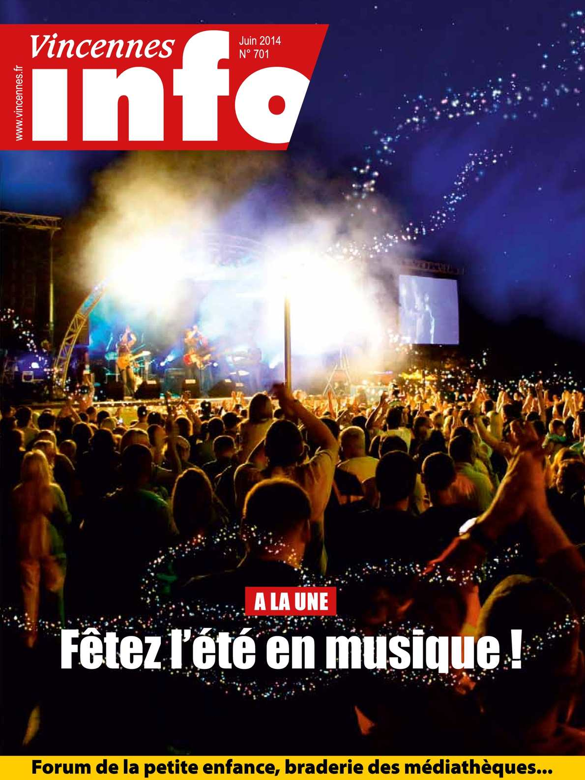 Calam o vincennes info n 701 juin 2014 - Office de tourisme vincennes ...
