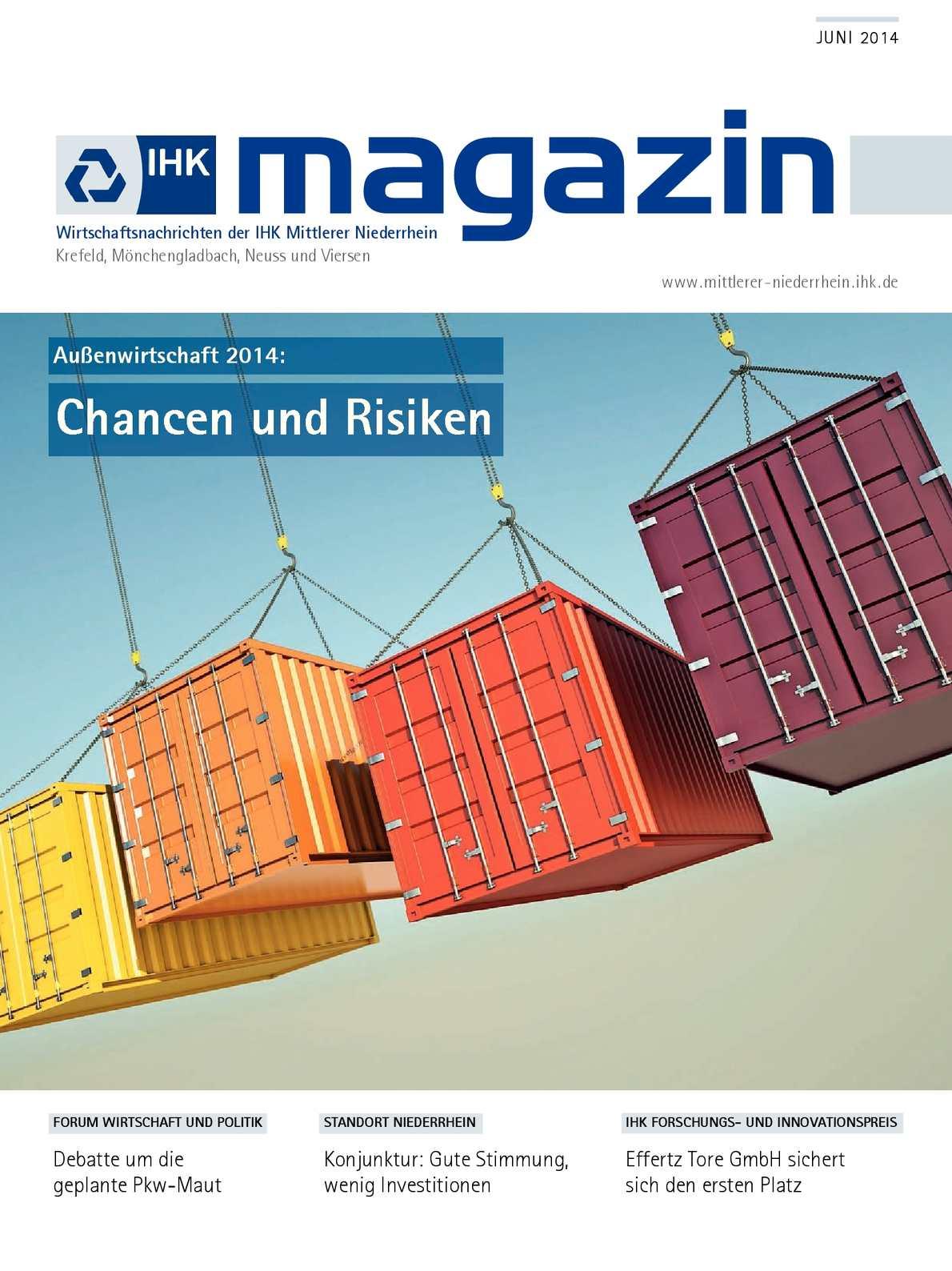 Calaméo - IHK Magazin Juni 2014