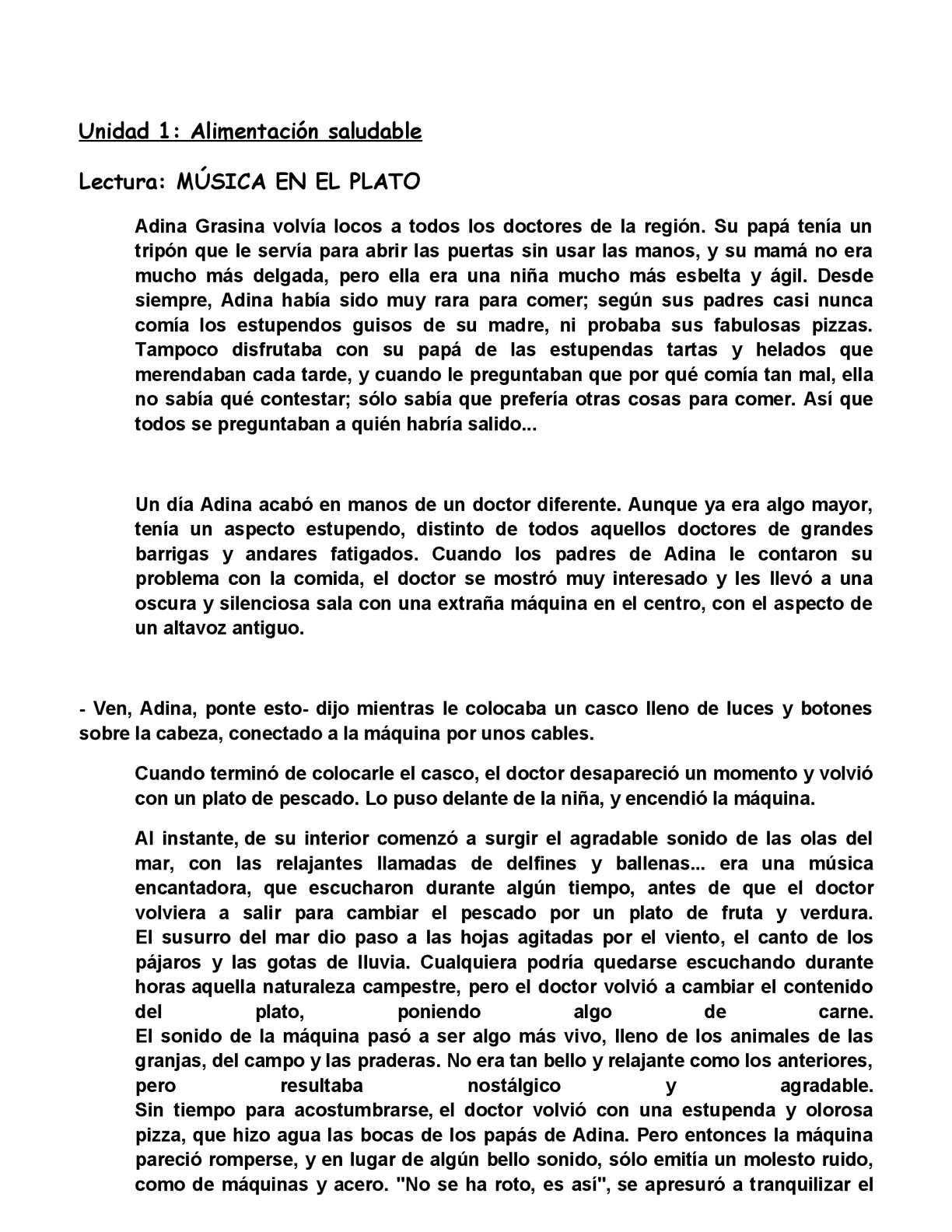 Calaméo - Unidad 1 lengua cuarto curso primaria C.P. Poeta Juan Ochoa