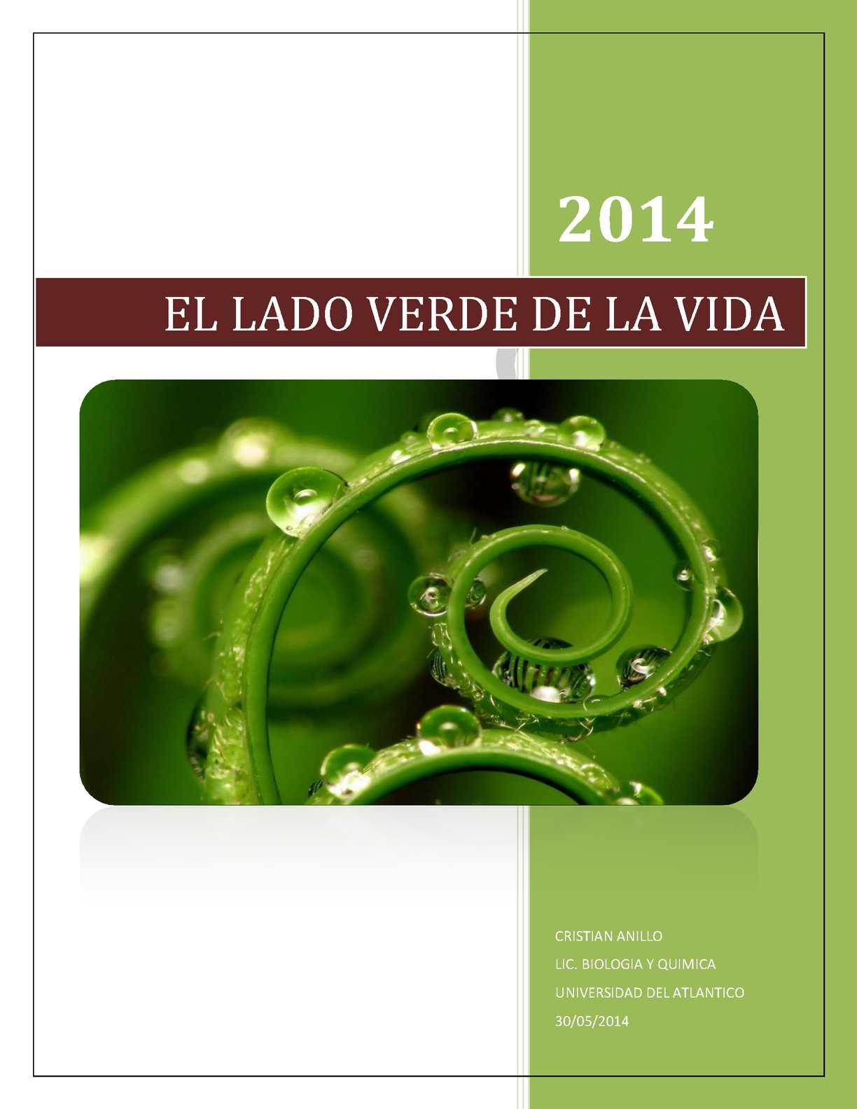 Calaméo - Morfo fisiologia vegetal cristian anillo