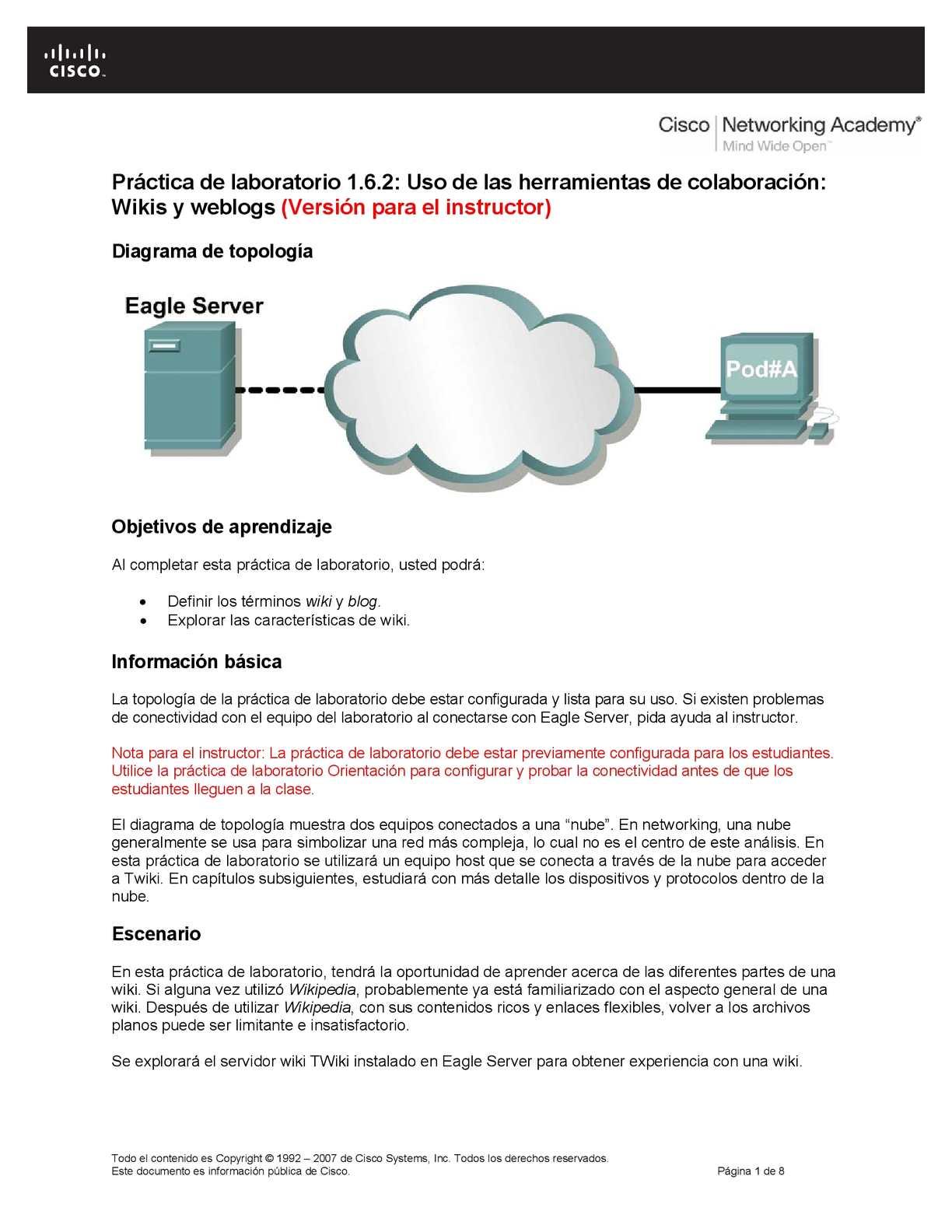 Formatos De Cisco Resueltos Calameo Downloader Free Body Diagram Diagrama Cuerpo Libre Page 18