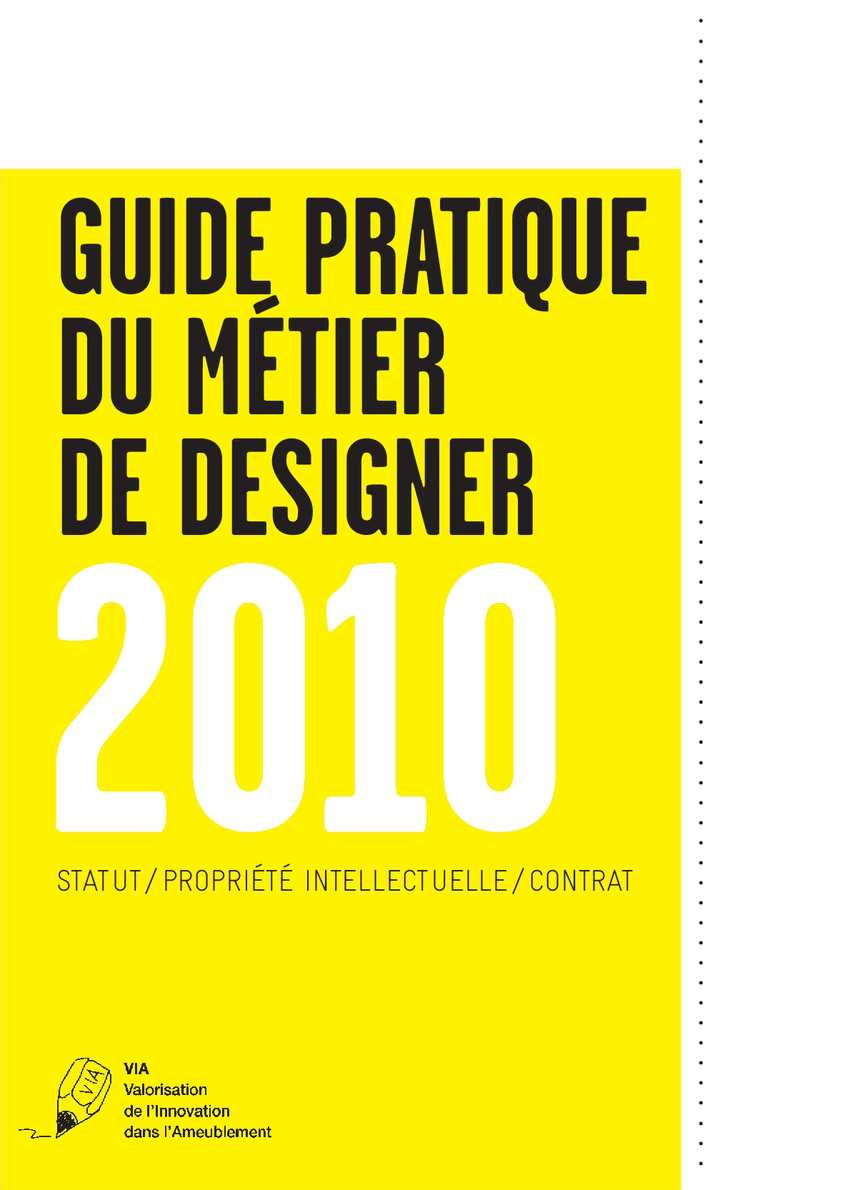 calam o guide partique du m tier de designer 2010. Black Bedroom Furniture Sets. Home Design Ideas