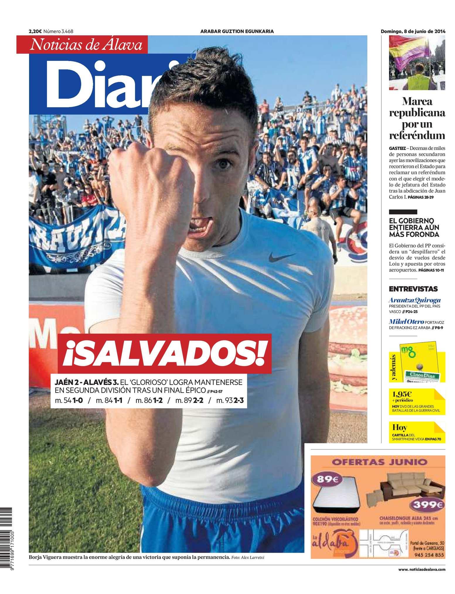 quality design fc5e0 1750f Calaméo - Diario de Noticias de Álava 20140608