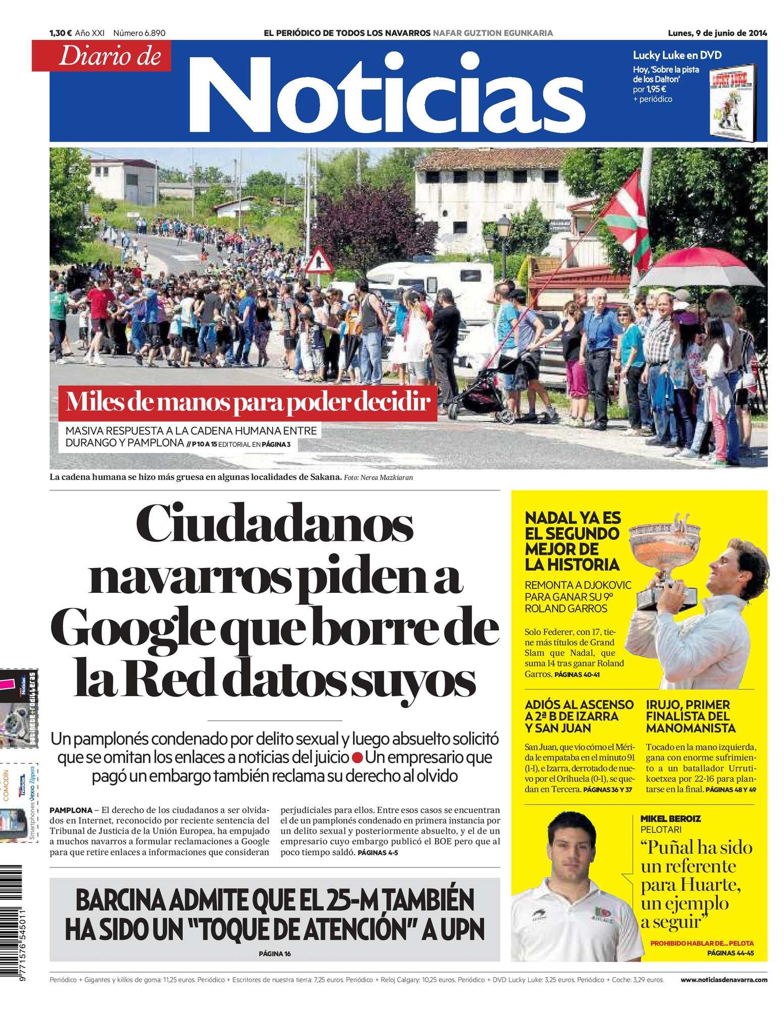 Calaméo - Diario de Noticias 20140609