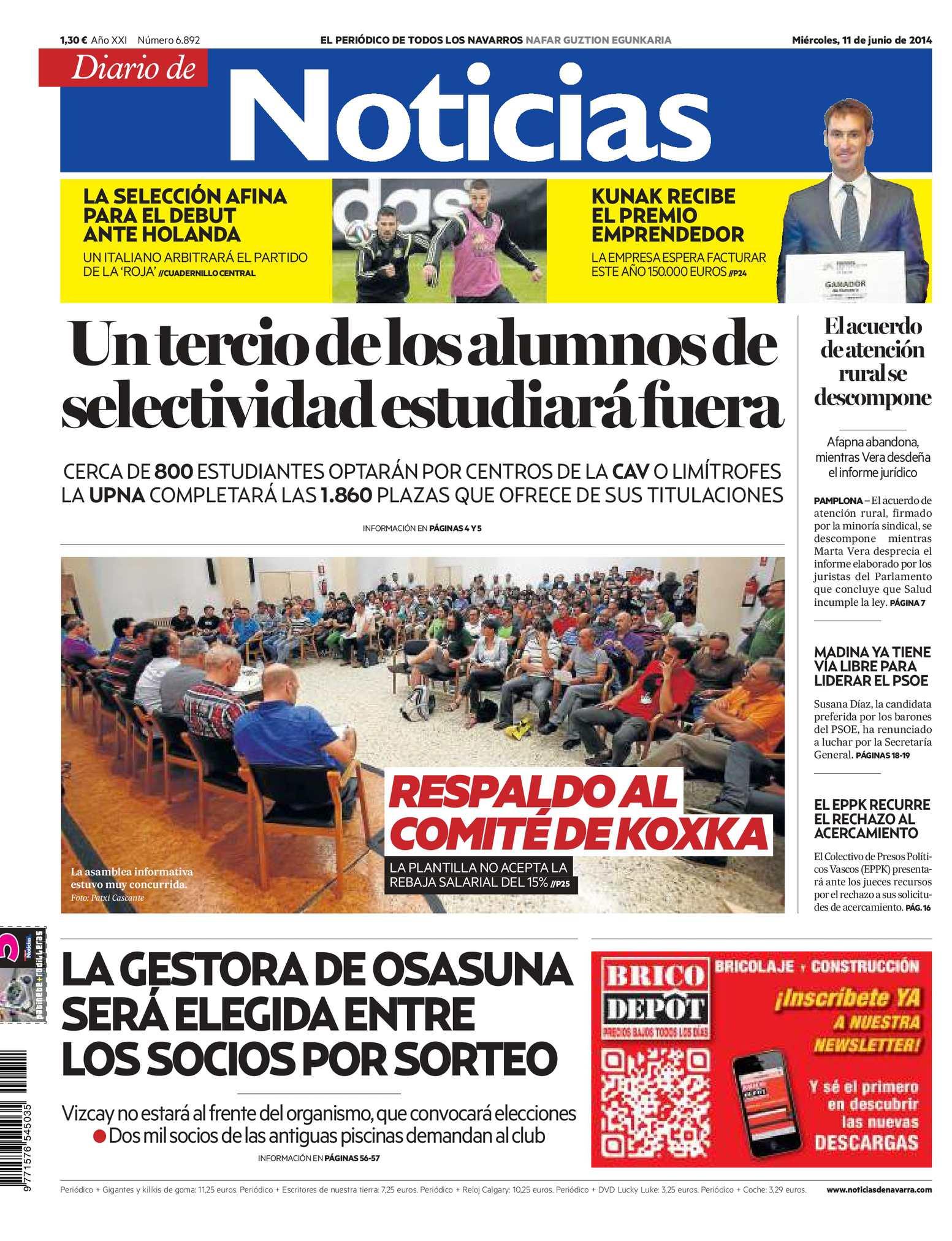 Calaméo - Diario de Noticias 20140611