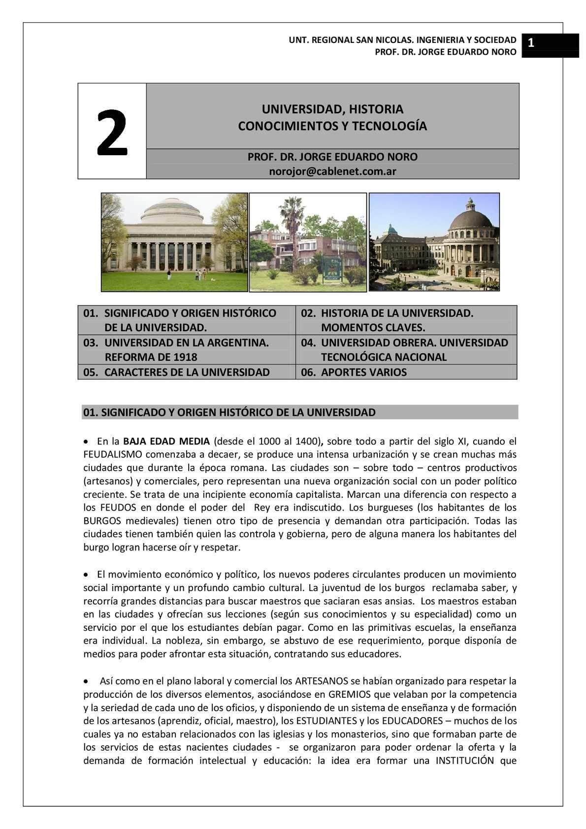 Calaméo - 159. UNIVERSIDAD, HISTORIA Y FUNCION ACTUAL