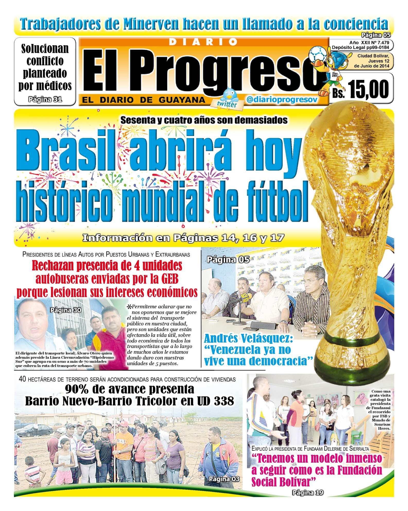 Calaméo - DIARIO EL PROGRESO EDICIÓN DIGITAL 12-06-2014